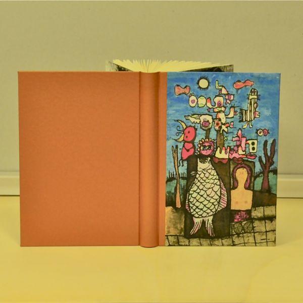Het Visje schetsboek blanco boek tekenboek beeldend kunstenaar Jaap Jungcurt J.H. Jacobus cursto karel beunis