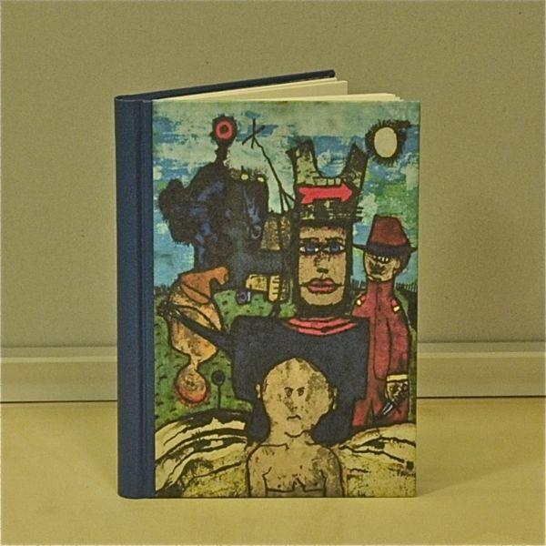 The Hatter schetsboek blanco boek tekenboek beeldend kunstenaar Jaap Jungcurt J.H. Jacobus cursto karel beunis