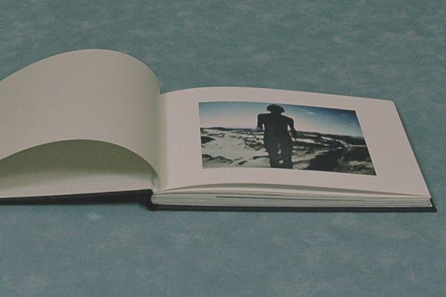 handgebonden fotoboek in linnen gemaakt bij  boekbinderij Seugling in Amsterdam